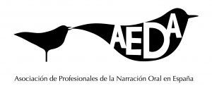 Logo AEDA Asociación de profesionales de la Narración Oral en España